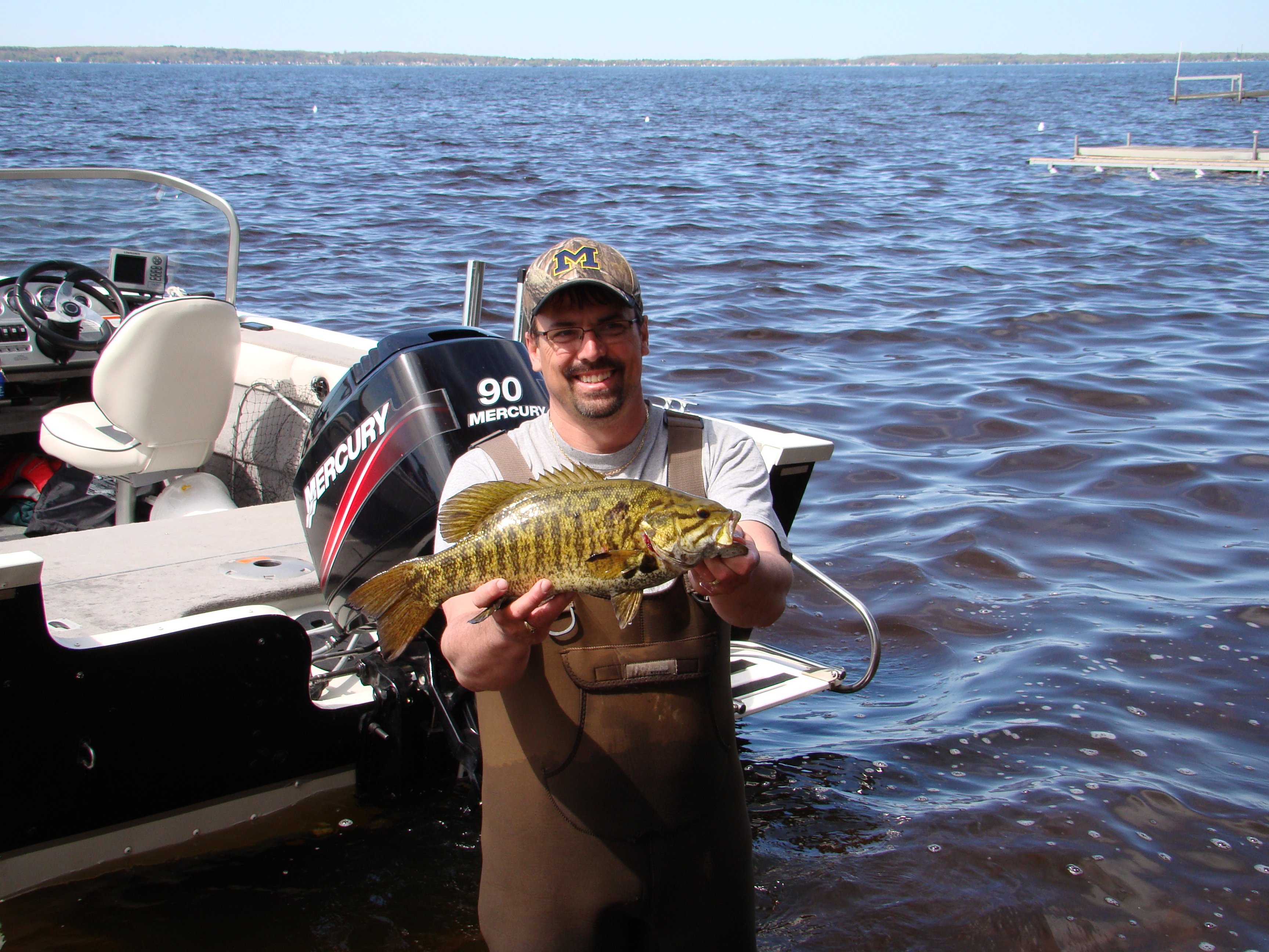 Fishing report the crest resort on houghton lakethe for Houghton lake fishing report
