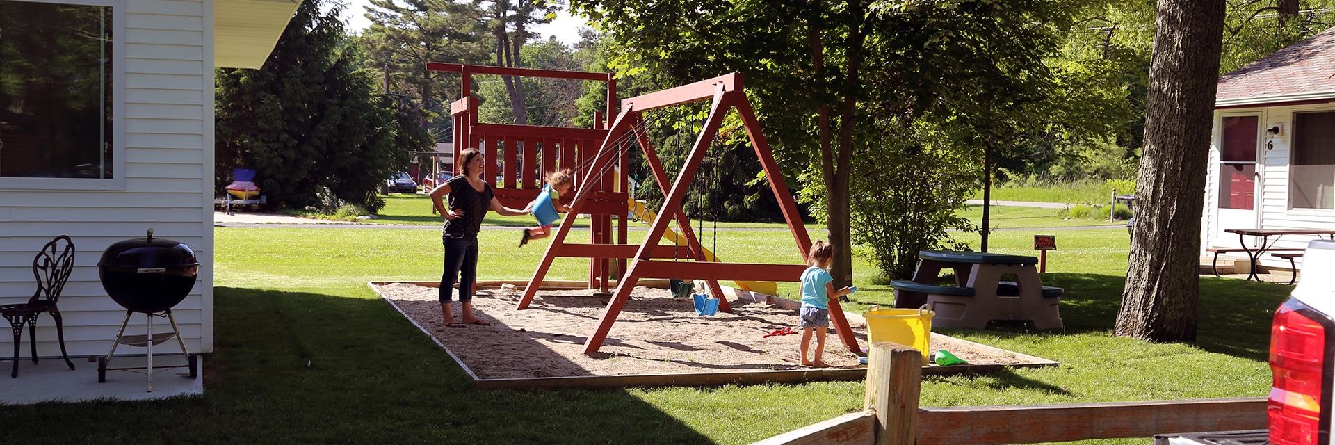 View of the Children's Playground